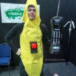 Peanut Butter Jelly Time Banana Cosplay, Red Sound Box