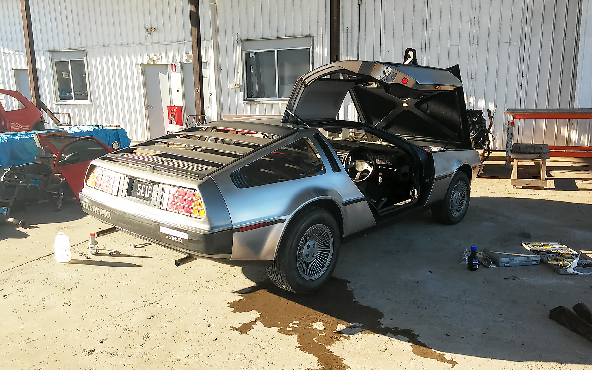 DeLorean Brake Bleeding Finished