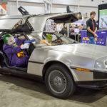 My DeLorean at Brisbane Supanova