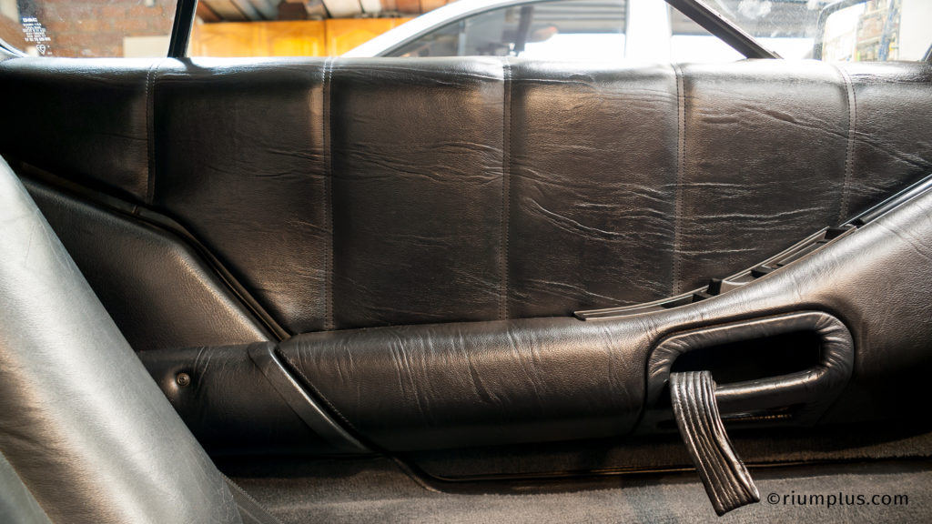 DeLorean Door Upholstery Padding After