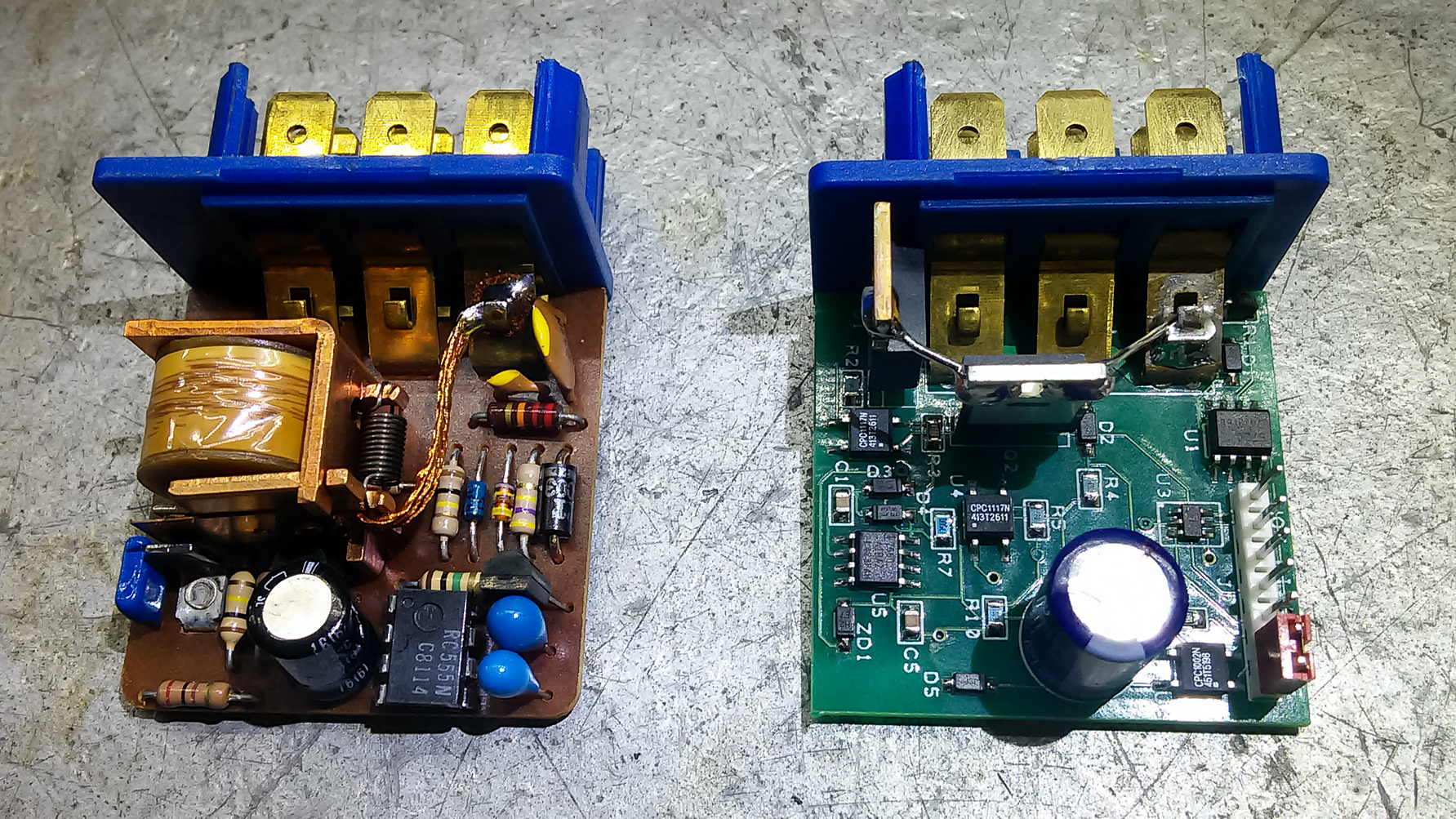 DeLorean RPM Relay Interior