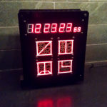 25-Hour Digital Myst Clock/Chronometer
