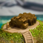 Myst Island Cake - Mechanical Age gears