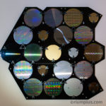 Silicon Wafer Wall Artwork