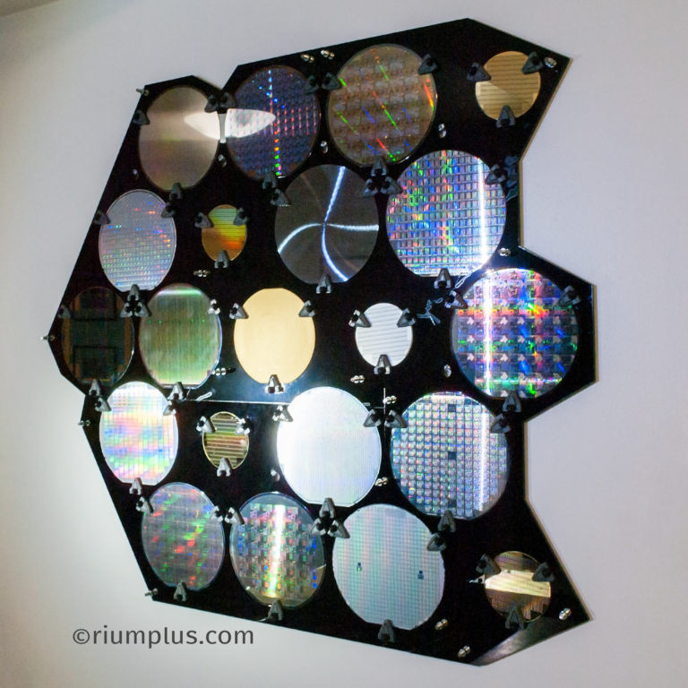 Silicon Wafer Artwork